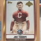 2006 Topps Hall of Fame Tribute Jim Thorpe