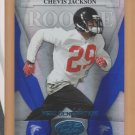 2008 Leaf Certified Rookie Mirror Blue Chevis Jackson Falcons RC /50