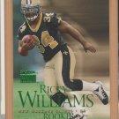 1999 Skybox Premium Rookie SP Ricky Williams Saints Dolphins RC