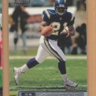 2001 Topps Stadium Club Rookie LaDainian Tomlinson Chargers RC