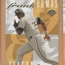 1995 Leaf Frank Thomas #3 White Sox