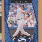 1999 UD Choice Starquest Blue Derek Jeter Yankees