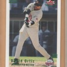 2002 Fleer Triple Crown Batting Average Parallel David Ortiz Red Sox /234