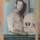 2001 UD Hall of Famers 20th Century Showcase Mickey Mantle Yankees