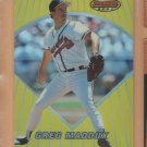 1996 Bowmans Best Preview Refractor Greg Maddux Braves