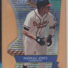 2000 Stadium Club 3x3 Luminescent Andrew Jones Braves