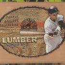 1997 Fleer Lumber Company Die Cut Andres Galarraga Rockies