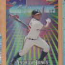 2000 Topps Chrome 21st Century Refractor Andrew Jones Braves