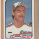 1989 Topps Rookie Randy Johnson Expos RC