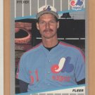1989 Fleer Rookie Randy Johnson Expos RC