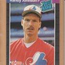 1989 Donruss Rookie Randy Johnson Expos RC