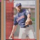 2001 Upper Deck MVP Rookie Travis Hafner Rangers RC