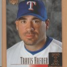 2001 Upper Deck Rookie Travis Hafner Rangers RC