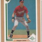 1991 Upper Deck Rookie Chipper Jones Braves RC