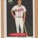 1991 Classic Best Rookie Chipper Jones Braves RC