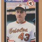 1989 Donruss Rookie Curt Schilling Orioles RC