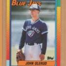 1990 Topps Traded Rookie John Olerud Blue Jays RC