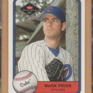 2001 Fleer Platinum Rookie Mark Prior Cubs RC