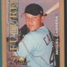 2001 Royal Rookies Miguel Cabrera Marlins RC