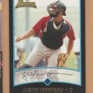2001 Bowman Rookie Justin Morneau Twins RC