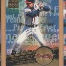 2000 Aurora Pennant Fever Chipper Jones Braves