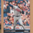 2000 Stadium Club Capture the Action Chipper Jones Braves