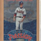 1998 Stadium Club Playing With Passion Chipper Jones Braves