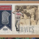 2002 Upper Deck Championship Caliber Chipper Jones Braves