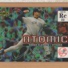 2000 UD Ionix Atomic Roger Clemens Yankees