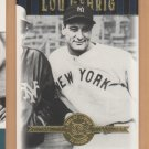 2001 UD Hall of Famers #48 Lou Gehrig Yankees