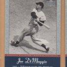 2001 Upper Deck Joe DiMaggio Series #JD8 Yankees