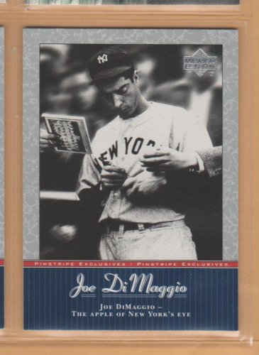 2001 Upper Deck Joe DiMaggio Series #JD34 Yankees