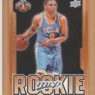 2008-09 Upper Deck MVP Rookie Russell Westbrook Thunder RC