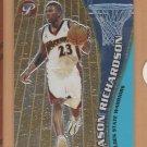 2001-02 Topps Pristine Rookie Jason Richardson Warriors RC
