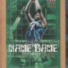 2000-01 Fleer Premium Name Game Kevin Garnett Timberwolves