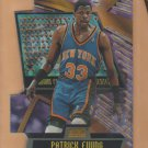 1998-99 Stadium Club Triumvirate Luminescent Patrick Ewing Knicks