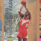 1993-94 Fleer Ultra Nicknames The Human Highlight Film Dominique Wilkins Hawks