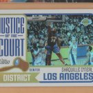 2003-04 Topps Justice of the Court Shaquille O'Neal Lakers