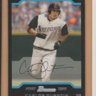 2004 Bowman Rookie Carlos Quentin Diamondbacks RC