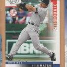 2003 Leaf Rookie Hideki Matsui Yankees RC