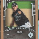2005 Upper Deck Ultimate Collection Silver Rookie Matt Smith White Sox RC /50