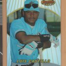 1996 Bowman's Best Refractor Rookie Luis Castillo Marlins RC