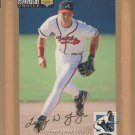 1994 UD Collectors Choice Gold Signature Chipper Jones Braves