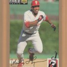 1994 UD Collectors Choice Gold Signature Milt Thompson Phillies