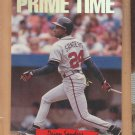 1993 Triple Play Nicknames Deion Prime Time Sanders Braves