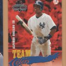 2003 Donruss Champions Team Colors Alfonso Soriano Yankees