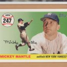 2006 Topps Mantle Home Run History #MHR247 Mickey Mantle Yankees