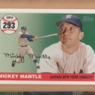 2006 Topps Mantle Home Run History #MHR293 Mickey Mantle Yankees