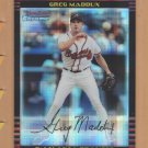 2002 Bowman Chrome Xfractor Greg Maddux Braves /250