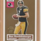 2005 Topps Turn Back the Clock #11 Ben Roethlisberger Steelers